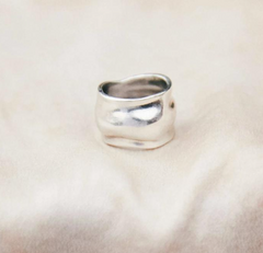 sterling silver orfeo ring