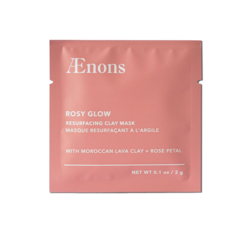 rosy glow - resurfacing clay mask