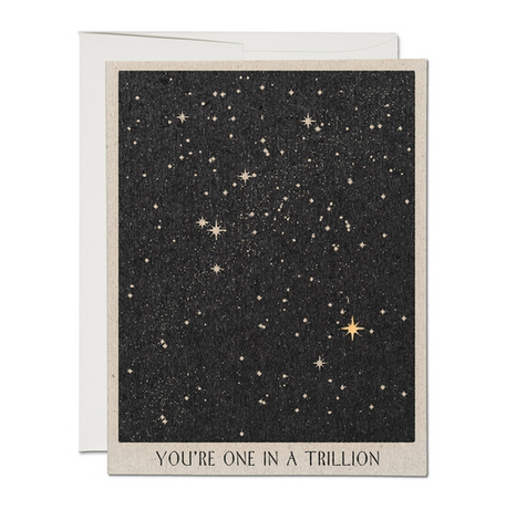 one in a trillion card