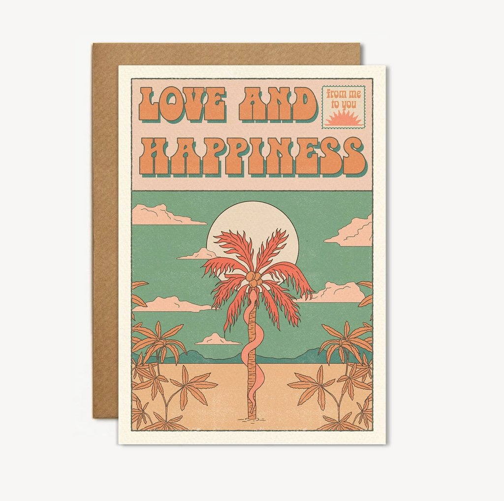 love and happiness card
