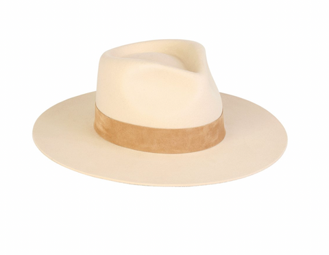 LOC/mirage hat - ivory