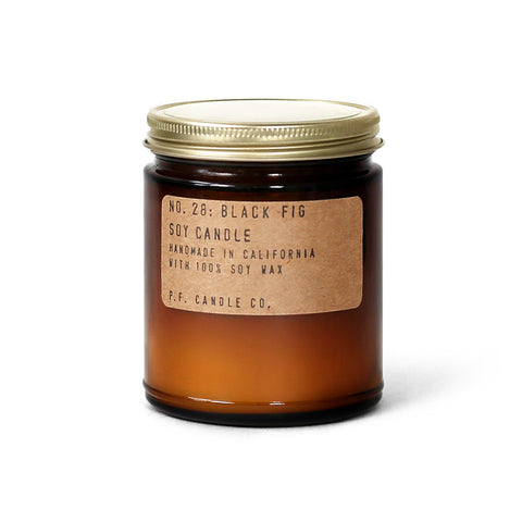 pf candle co no. 28 / black fig candle