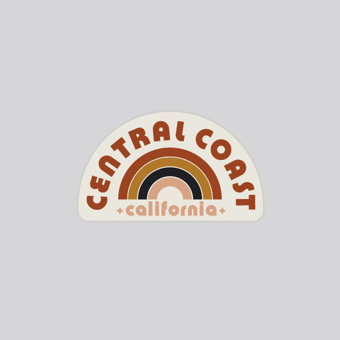 rainbow central coast stickers