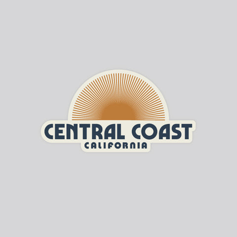 central coast sunbeam sticker