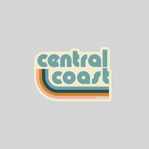 retro central coast stickers