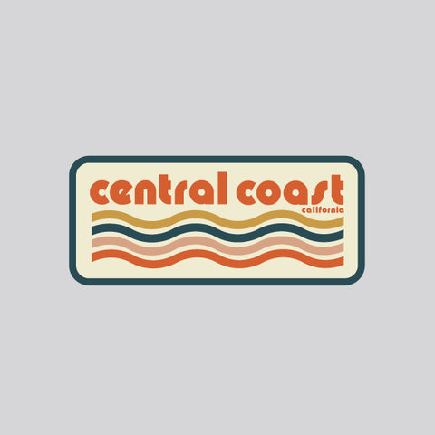 central coast waves sticker