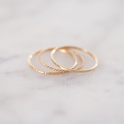 classic gold ring