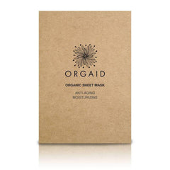 Orgaid Anti-Aging Moisturizing Organic Face Mask Single