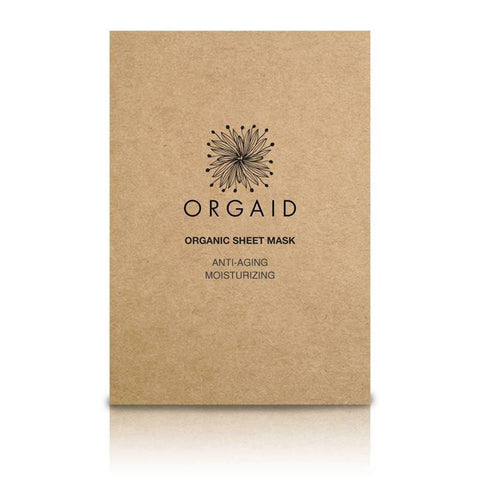 orgaid anti-aging organic sheet mask single