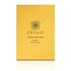 orgaid vitamin c & revitalizing organic face mask