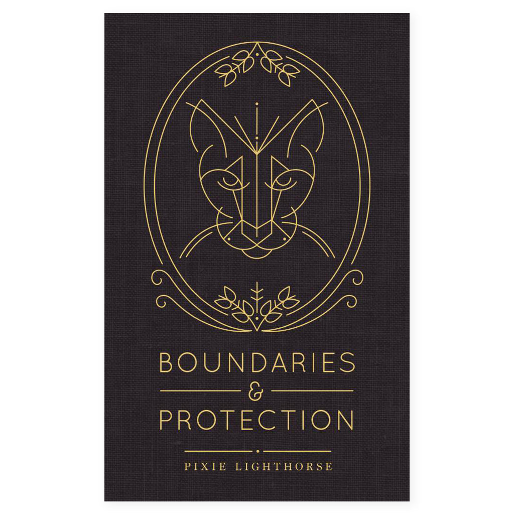 pixie lighthorse boundaries and protection book cover