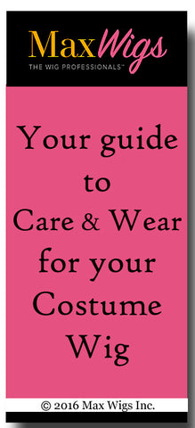 Your Guide to Wear and Care for Costume Wigs