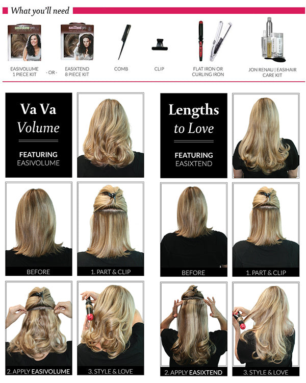 How to for Hair Extensions