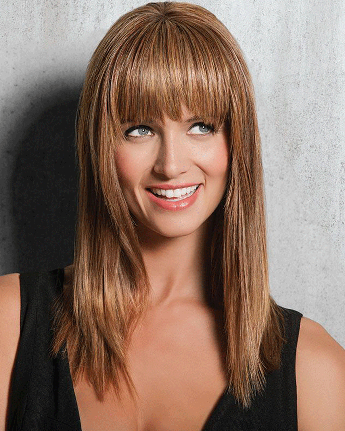 Modern Fringe Clip in Bang