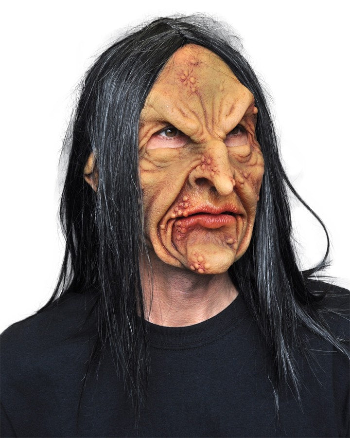 Morris Survivor Latex Mask - MaxWigs
