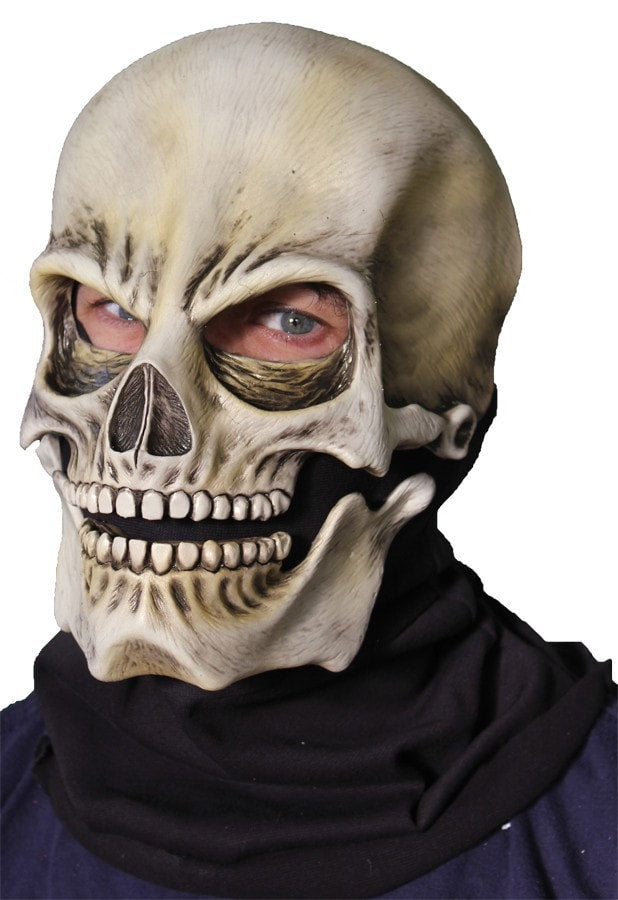 Morris Sock Skull Classic Latex Mask - MaxWigs