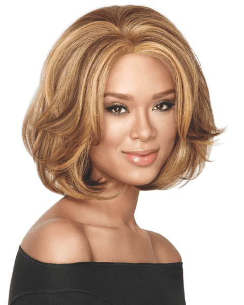 Sherri Shepherd Big Wave Bob - Lace Front Wig by Sherri Shepherd NOW Heat Friendly - MaxWigs