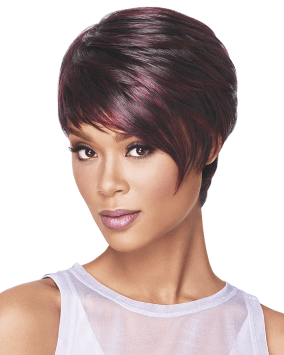 Sherri Shepherd Sleek Angle Wig Sherri Shepherd NOW Asymmetrical Heat Friendly - MaxWigs