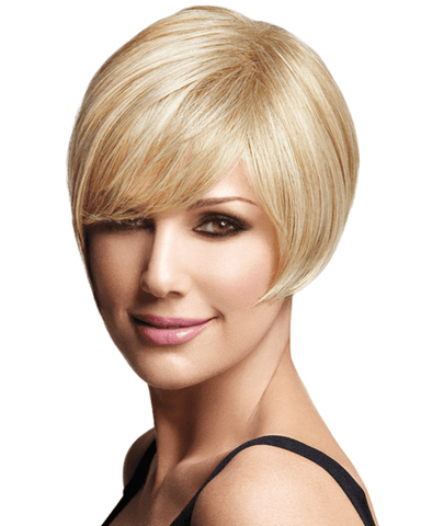 LuxHair Asymmetric Daisy Fuentes WOW Heat Friendly LuxHair - MaxWigs