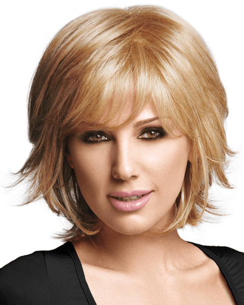 LuxHair Chic Layer Daisy Fuentes WOW Heat Friendly LuxHair - MaxWigs