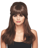LuxHair WOW Bangs Textured Daisy Fuentes Hairpiece LuxHair CLEARANCE - MaxWigs