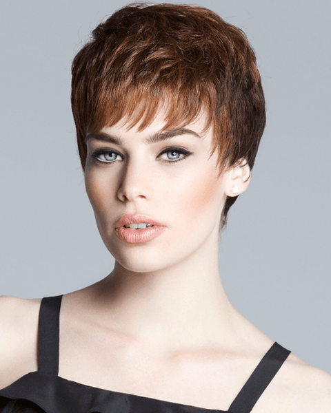 LuxHair Textured Gamine Lace Front Tabatha Coffey HOW Monofilament LuxHair - MaxWigs