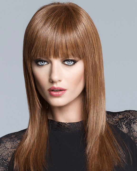 LuxHair Sleek and Straight Lace Front Tabatha Coffey HOW Heat Friendly LuxHair - MaxWigs