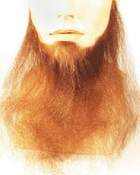 "16"" Full Face Human Hair Beard Duck Dynasty Biker CLEARANCE"
