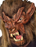 Morris Lone Wolf Latex Mask - MaxWigs