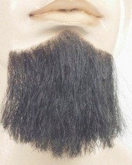 Lacey Costume 3 Point Synthetic Goatee Beard CLEARANCE - MaxWigs