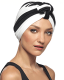 Revlon Striped Poly Turban - MaxWigs