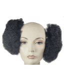 Lacey Costume Afro Puff 60s Attachment African American - MaxWigs