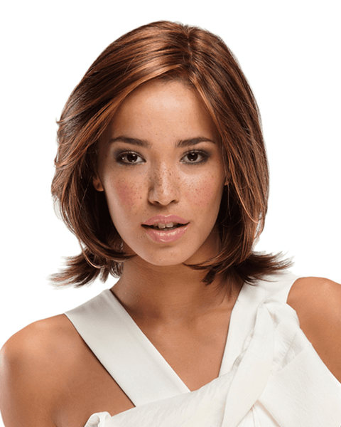 Jon Renau Alia Synthetic Women SmartLace Short Mono Top Bob Wig by Jon Renau - MaxWigs