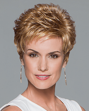 Eva Gabor Aspire - Short Boy Cut Loose Textured Curls - MaxWigs