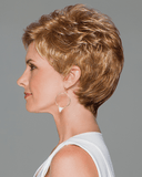 Eva Gabor Aspire Petite - Short Boy Cut Loose Textured Curls - MaxWigs
