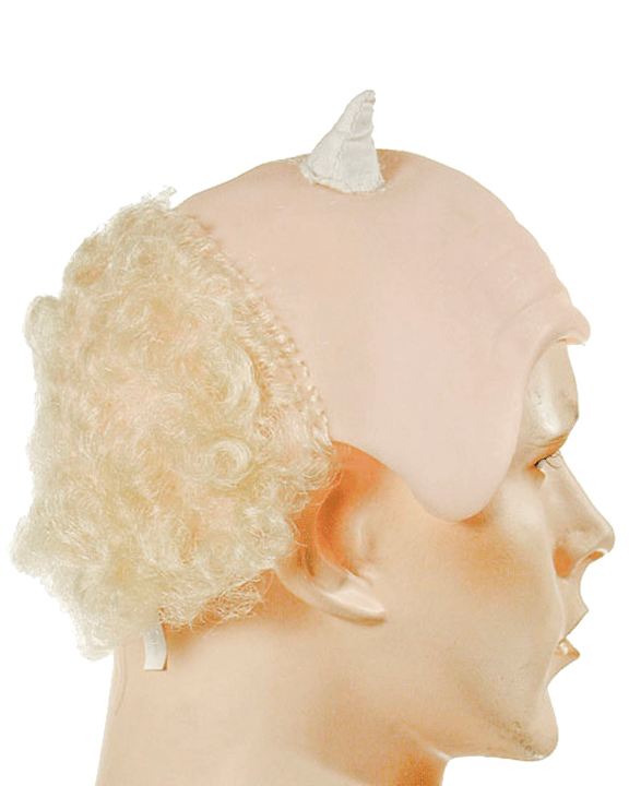 Lacey Costume Bald and Horned - MaxWigs