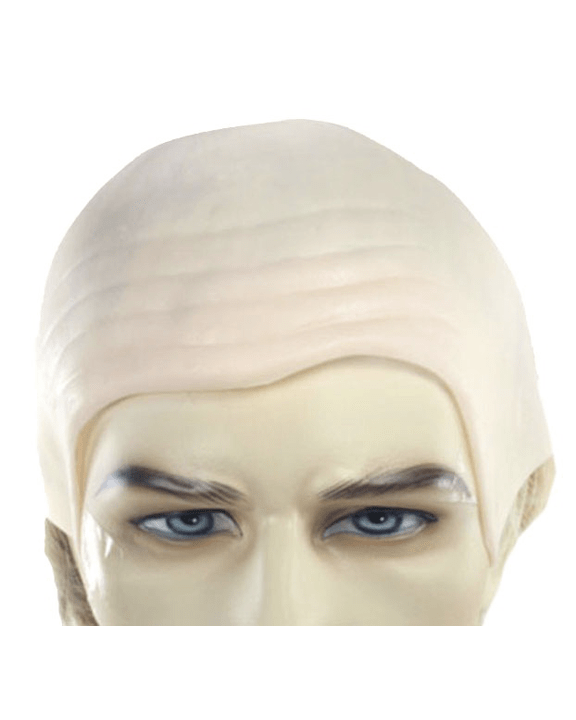Lacey Costume Bald Cap - MaxWigs