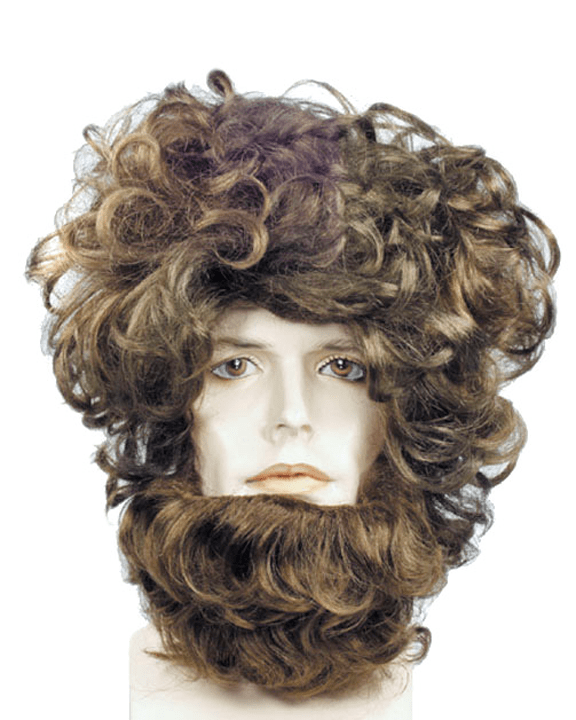 Lacey Costume Beast Wig & Mane Set Beauty & The Beast - MaxWigs