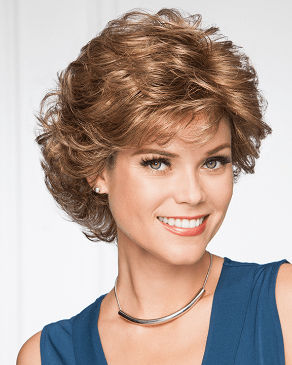Eva Gabor Belle - Short Curly Tousled Layers - MaxWigs
