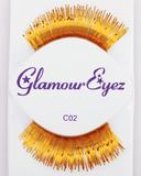 Sepia Gold Eyelash C02 - MaxWigs