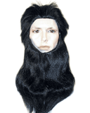 Lacey Costume Deluxe Caveman Wolfman Costume Wig and Beard Set - MaxWigs