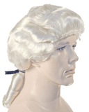 Lacey Costume Deluxe Colonial Man 17th 18th Century Wig - MaxWigs
