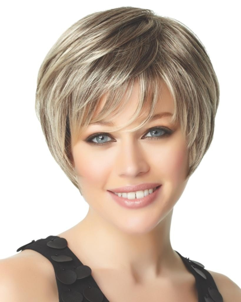 Deluxe - Short Bob Cut Monofilament by Eva Gabor Wigs
