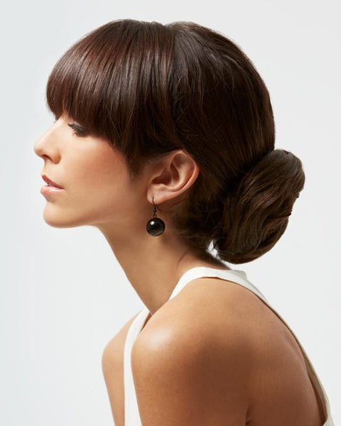 Loop Wrap Around Bun Chignon Interlocking Comb by Eva Gabor Hairpieces