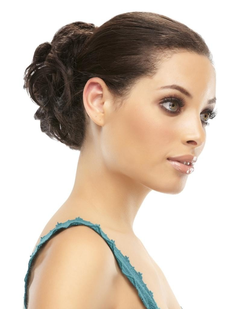 Magnetic Curly Comb Ponytail Wrap Scrunchie Attachment by EasiHair Hairpieces