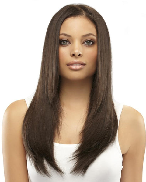 "16"" easiXtend Elite Remy Human 8 pc Clip In by EasiHair Hair Extensions"