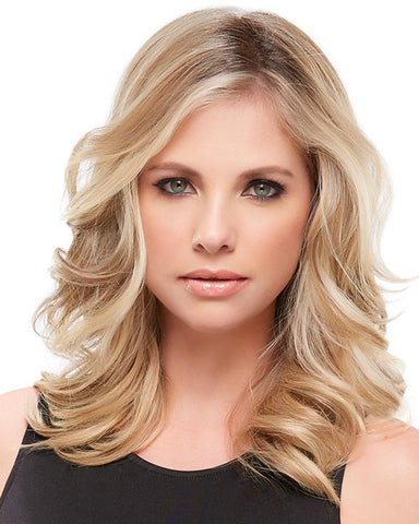 "easiPart 12"" XL Heat Resistant Volumizer Extension Clip In Monofilament by EasiHair Hairpieces"