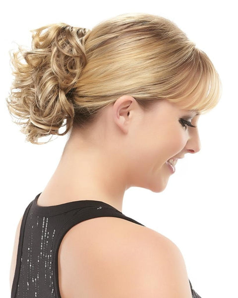 Classy - Ponytail Short Curly Claw Clip Attachment by EasiHair Hairpieces