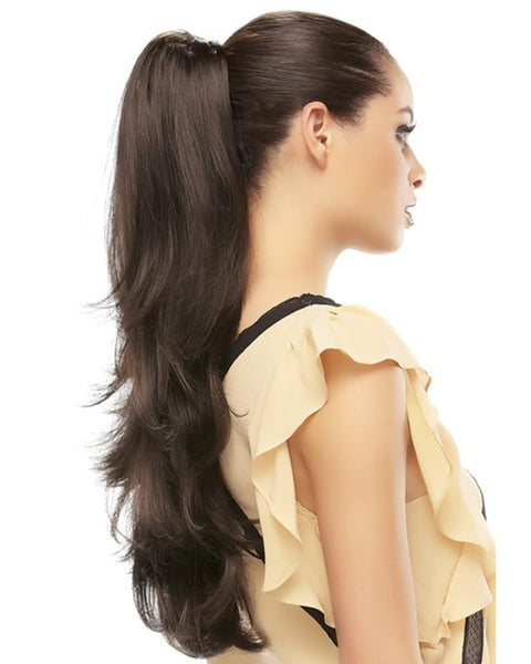 Provocative Ponytail Long Claw Comb Clip Attachment by EasiHair Hairpieces