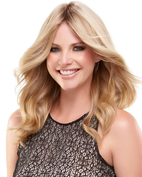 "easiPart 12"" Human Hair Volumizer Extensions Clip In Monofilament by EasiHair Hairpieces"